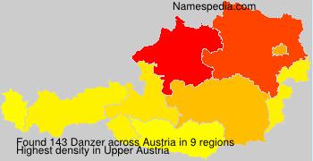 Surname Danzer in Austria