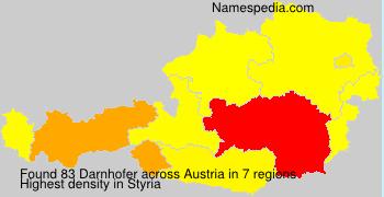 Surname Darnhofer in Austria