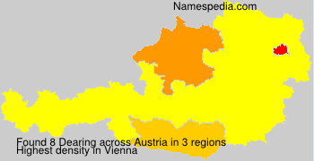 Surname Dearing in Austria