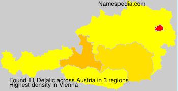 Surname Delalic in Austria