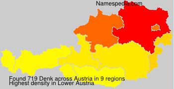 Surname Denk in Austria
