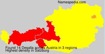 Surname Desalla in Austria