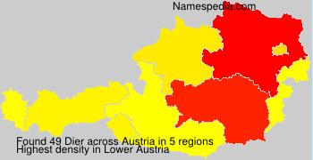 Surname Dier in Austria