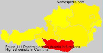 Surname Dobernig in Austria