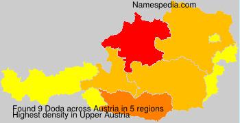 Surname Doda in Austria