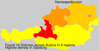 Familiennamen Dohmen - Austria