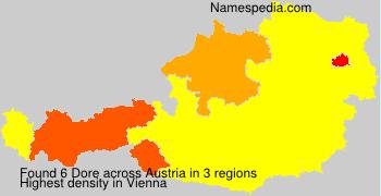 Surname Dore in Austria