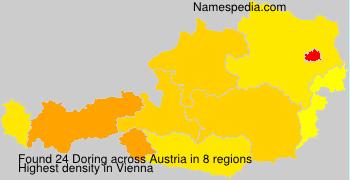 Surname Doring in Austria
