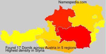 Surname Dornik in Austria
