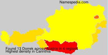 Surname Dorrek in Austria