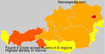 Surname Doyle in Austria
