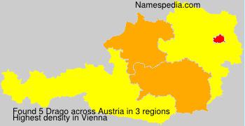 Familiennamen Drago - Austria