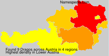 Surname Dragos in Austria