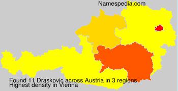 Familiennamen Draskovic - Austria
