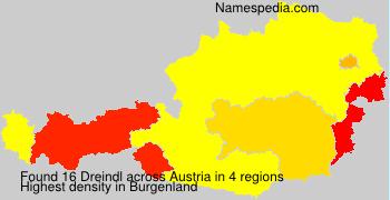 Familiennamen Dreindl - Austria