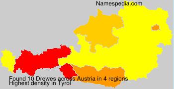 Surname Drewes in Austria