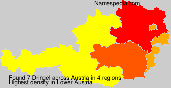 Surname Dringel in Austria