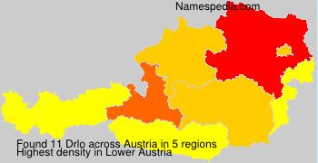 Surname Drlo in Austria