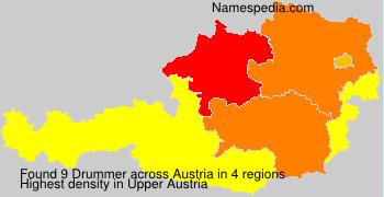 Familiennamen Drummer - Austria
