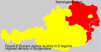 Surname Durrani in Austria