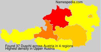 Surname Duschl in Austria