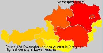 Surname Dworschak in Austria