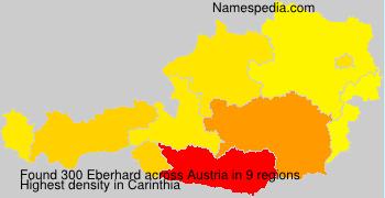 Familiennamen Eberhard - Austria