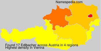 Familiennamen Edlbacher - Austria