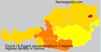 Familiennamen Eggert - Austria