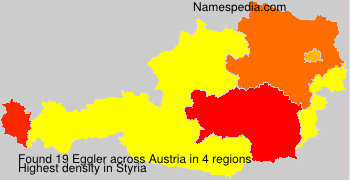 Familiennamen Eggler - Austria