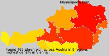 Surname Ehrenreich in Austria