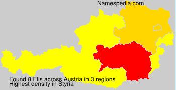Surname Elis in Austria