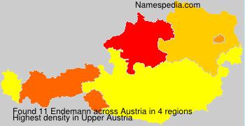 Familiennamen Endemann - Austria
