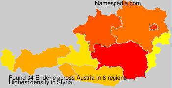 Surname Enderle in Austria