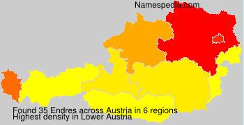 Surname Endres in Austria