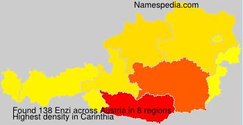 Familiennamen Enzi - Austria