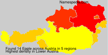 Surname Epple in Austria