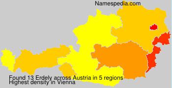 Surname Erdely in Austria