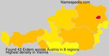 Surname Erdem in Austria