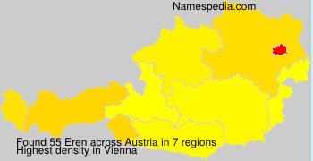 Surname Eren in Austria
