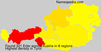 Surname Erler in Austria