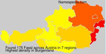 Surname Fassl in Austria