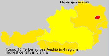 Familiennamen Ferber - Austria