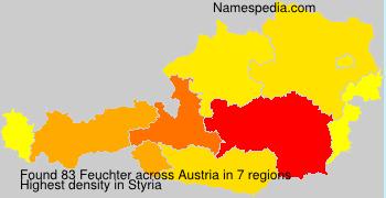 Surname Feuchter in Austria