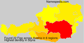Familiennamen Figo - Austria