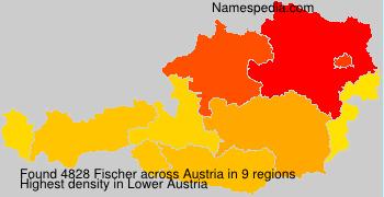 Familiennamen Fischer - Austria