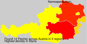 Surname Flecher in Austria