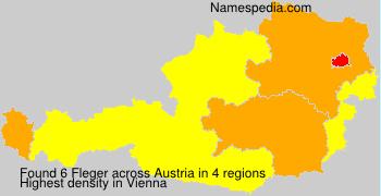 Familiennamen Fleger - Austria
