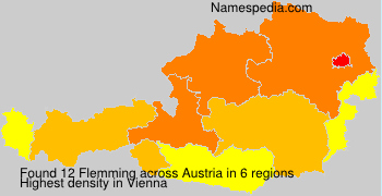 Surname Flemming in Austria