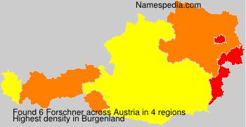 Surname Forschner in Austria